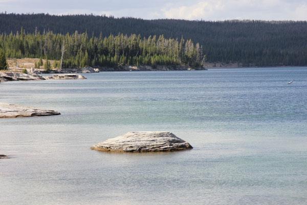Früher konnte man hier die Fische aus dem See ziehen und direkt an der Angel in dieser heissen Quelle kochen. (Kein Witz!)