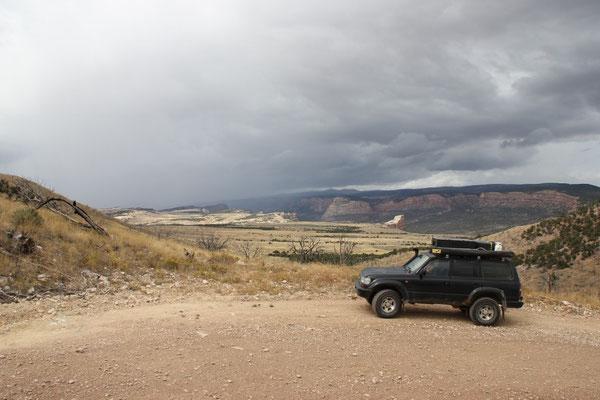 Zum Glück entkamen wir dem Regen grösstenteils.