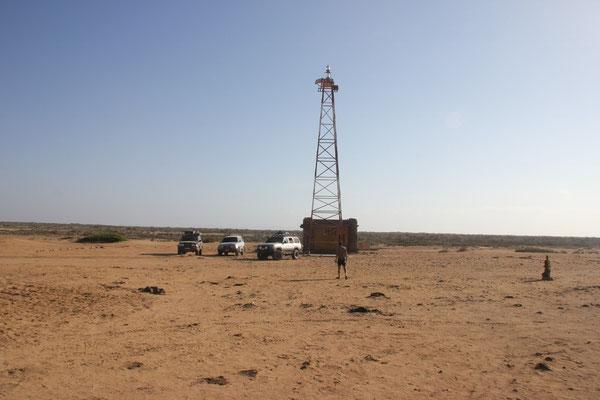 Der Leuchtturm am Punta Gallinas.