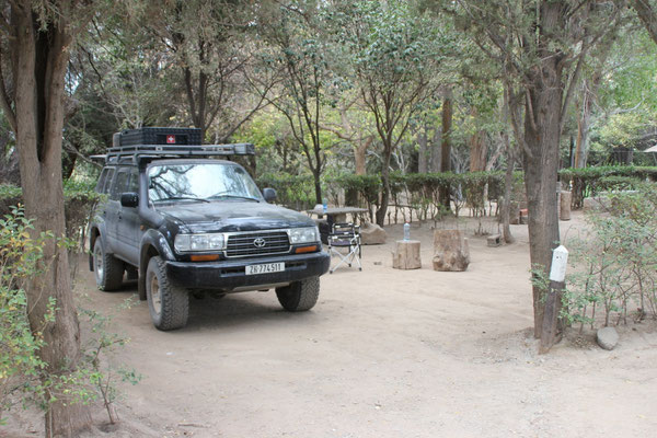 Camping in Cachi