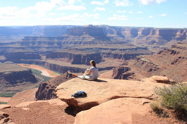 Wieso wandern, wenn man hier sitzen kann?