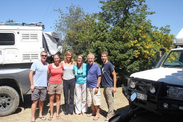 Overlander-Treffen auf dem Camping La Renacer.