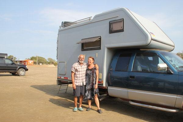 Peter und Elisabeth aus Deutschland.