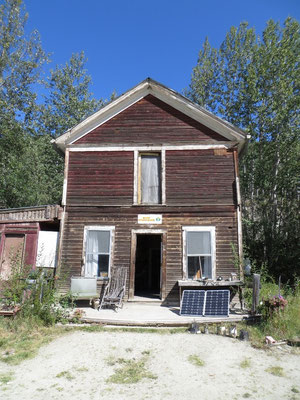 Roadhouse beim Dredge N° 4 noch im Originalzustand