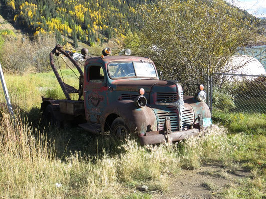 Dieses Fahrzeug hatte wohl auch schon bessere Zeiten gesehen.