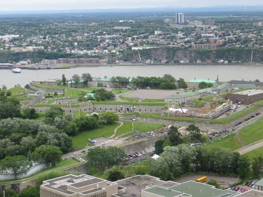 die Zitadelle von Québec