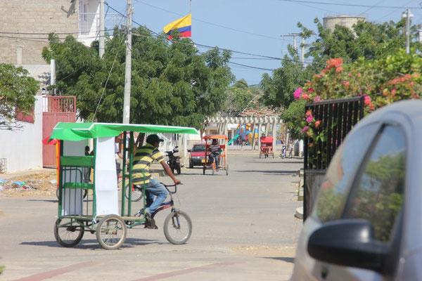 Zurück in Uribia.