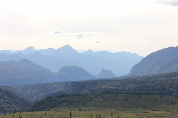 Berge soweit das Auge reicht.