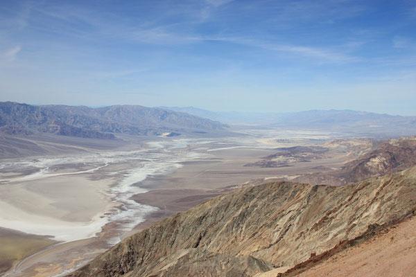 Schöne Aussicht von Dante's View