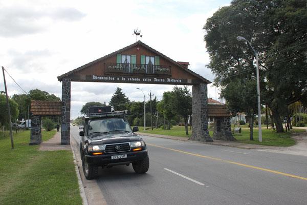 Willkommen in Nueva Helvecia!
