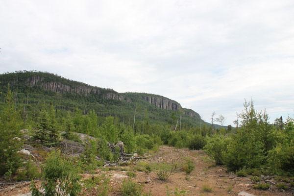 Rote Felsen in der Nähe von Red Rock