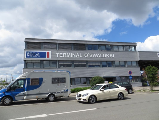 Das Terminal auf Anhieb gefunden