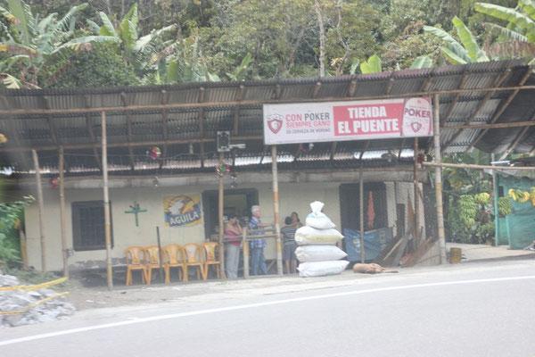 In fast jeder Ortschaft findet man einen Tienda, einen kleinen Laden.