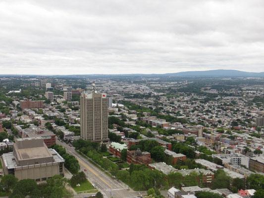 Herrliche Aussicht über die Stadt Québec