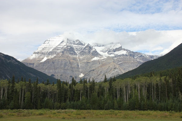 Mount Robson, höchster Berg in den Rocky Mountains.