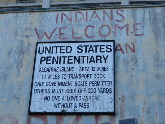 Das berühmte Gefängnis auf einer Insel