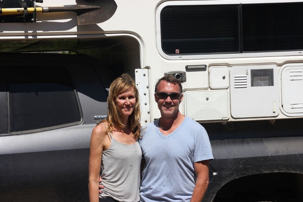 Paula und John aus Kalifornien.