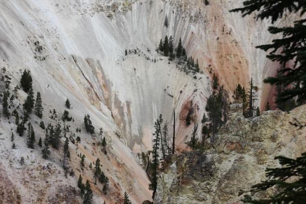 Die Farben im Canyon waren umwerfend.