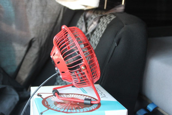 Unser kleiner Ventilator.