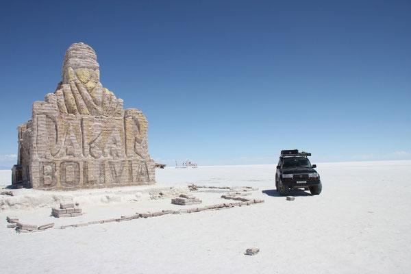 Hier startete die Rallye Dakar 2014.