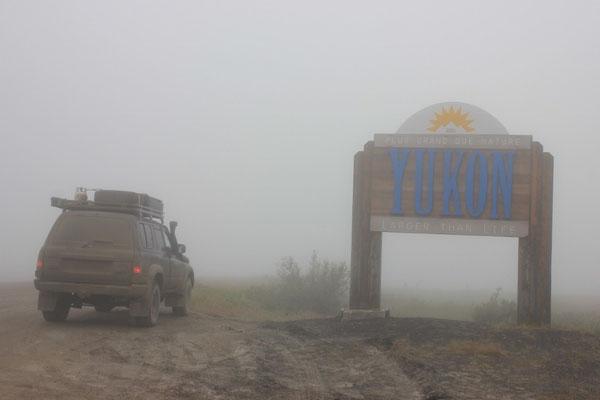 ... und fuhren wieder zurück in den Yukon.