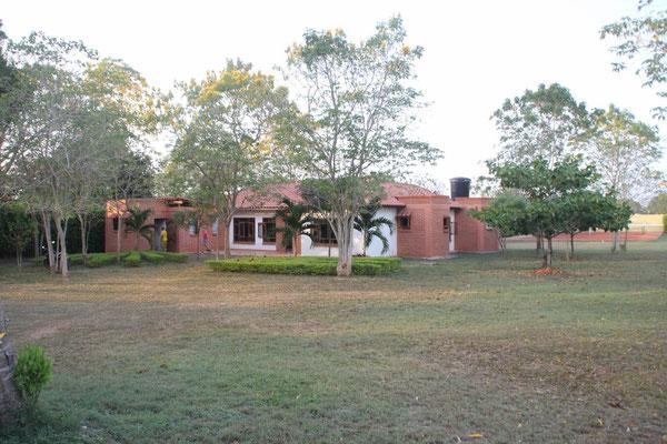 Das Haus von Gloria und Albeiro.