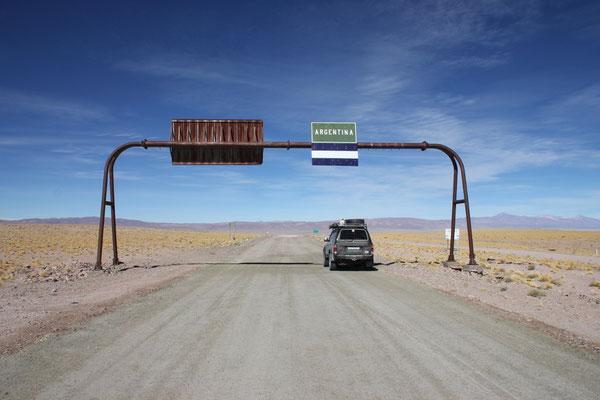 Bienvenidos a Argentina.