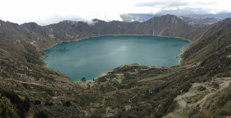 Die Lagune Quilotoa!