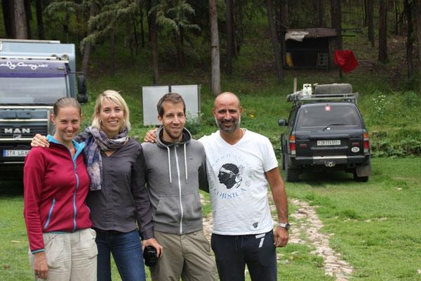 Jeden Tag trafen wir tolle Leute! Josien und Rachid aus Holland trafen wir nicht das letzte Mal.