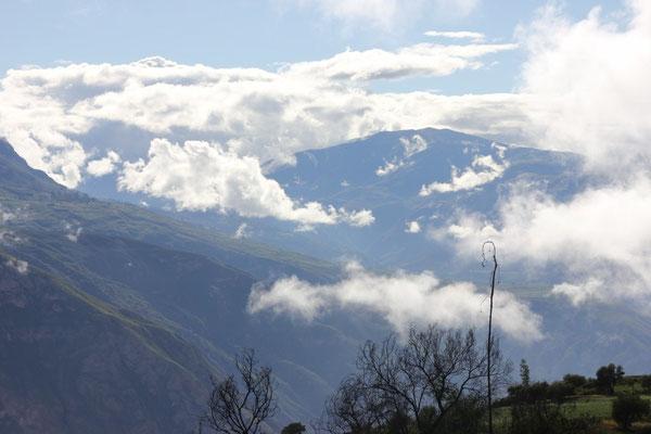 Tolle Aussicht in die Berge