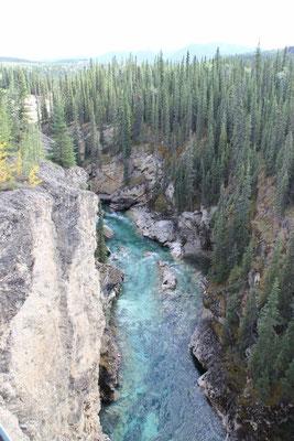 wunderschöner Canyon mit glasklarem Wasser, man konnte die Fische von der Brücke aus sehen!
