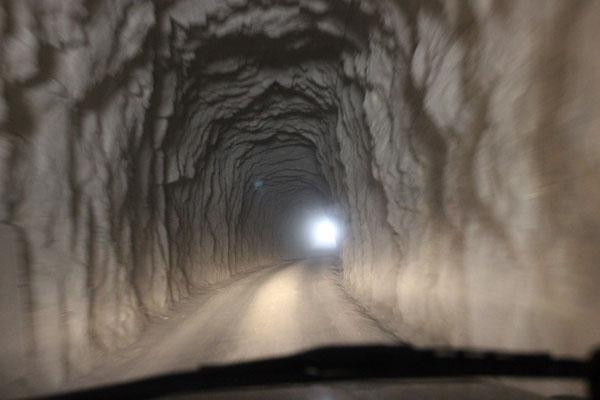 Es sollen 35 Tunnels sein.