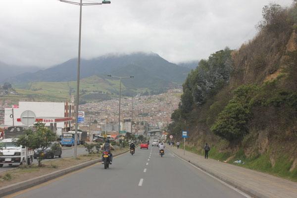 Auf dem Weg nach Las Lajas.