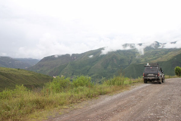 Auf dem Weg nach Colcamar.