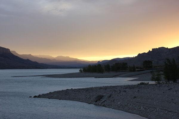 Sonnenuntergang im Bufallo Bill State Park