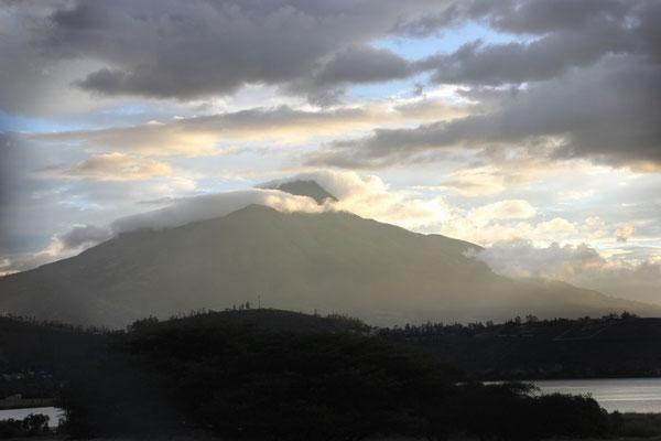 So eine schöne Aussicht! Ibarra ist umgeben von Vulkanen.