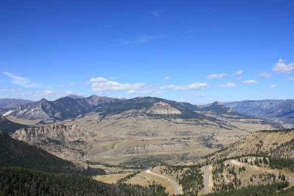 Die Fahrt auf den Dead Indian Pass.