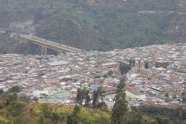 Aussicht auf Cajamarca