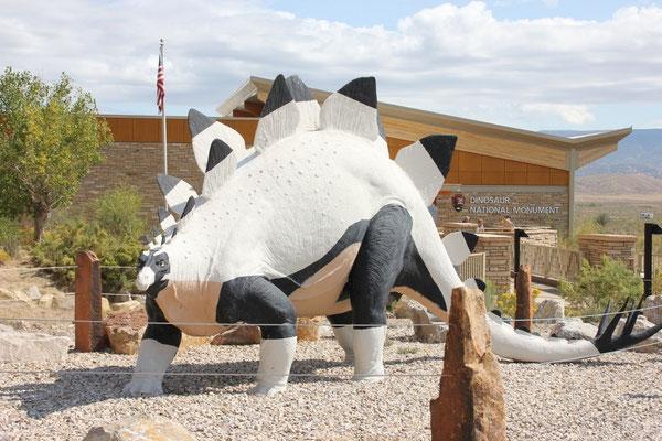 Dinosaurier kann man nur auf Utah's Seite bestaunen.