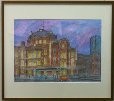 田中薫:夜の東京駅
