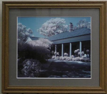竹田辰興:旧オルト邸(長崎市グラバー園、赤外線写真)