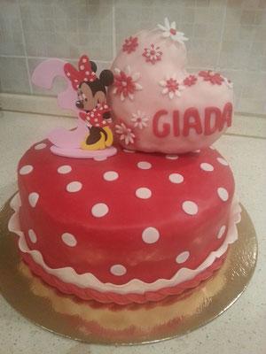 numero x torta in FIMO, cake topper, personalizzato
