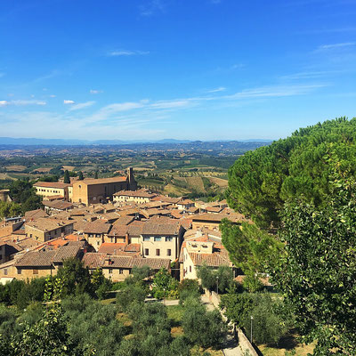 San Gimignano Blick