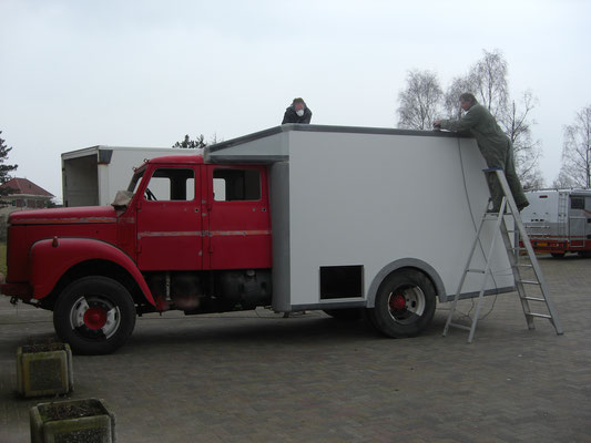 Opbouw chassis