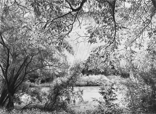 Black Pencil on paper. 30 x 22 cm. Private collection.