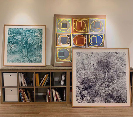 My drawings in CK Contemporary, San Francisco, USA.