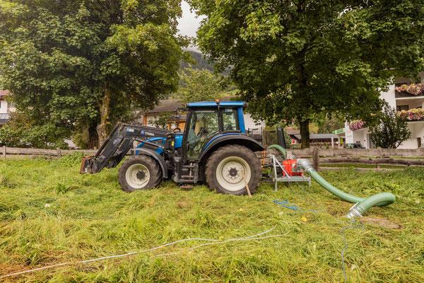 Schmutzwasserpumpe Abwasserverband Stubaital