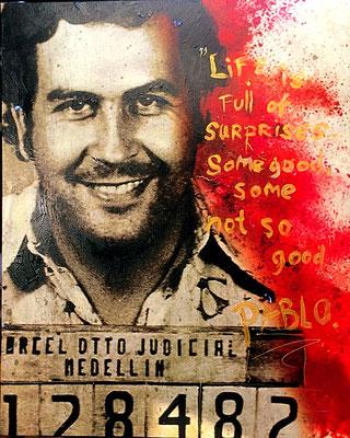 Pablo Escobar. Zie webshop