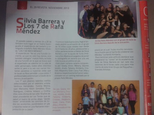 Los 7 de Rafa - Silvia Barrera