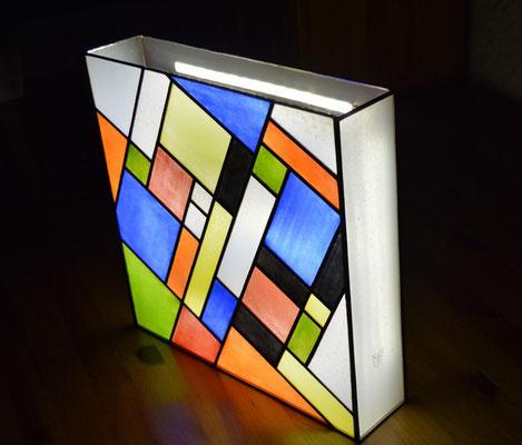 Applique style Mondrian